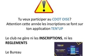 Inscription CDOT